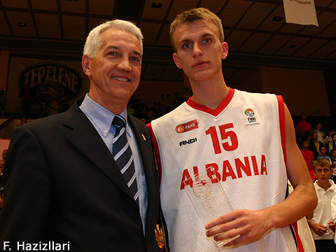 MVP and All-Star - Gerti Shima (Albania)